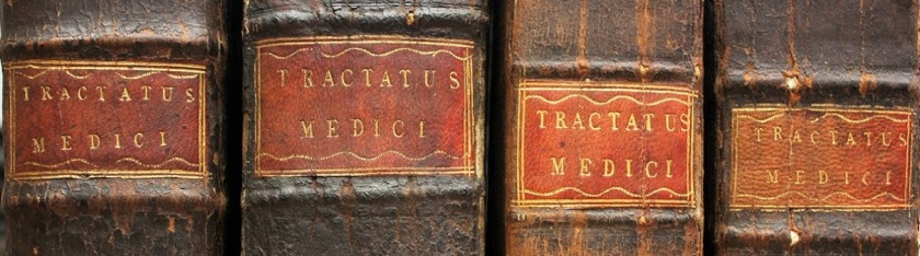 Tractatus medici: many of the later books in the collection are related to medicine (Photograph by Lucy Kelsall)