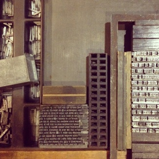 Sonnets large and small (Photograph by Lucy Kelsall)