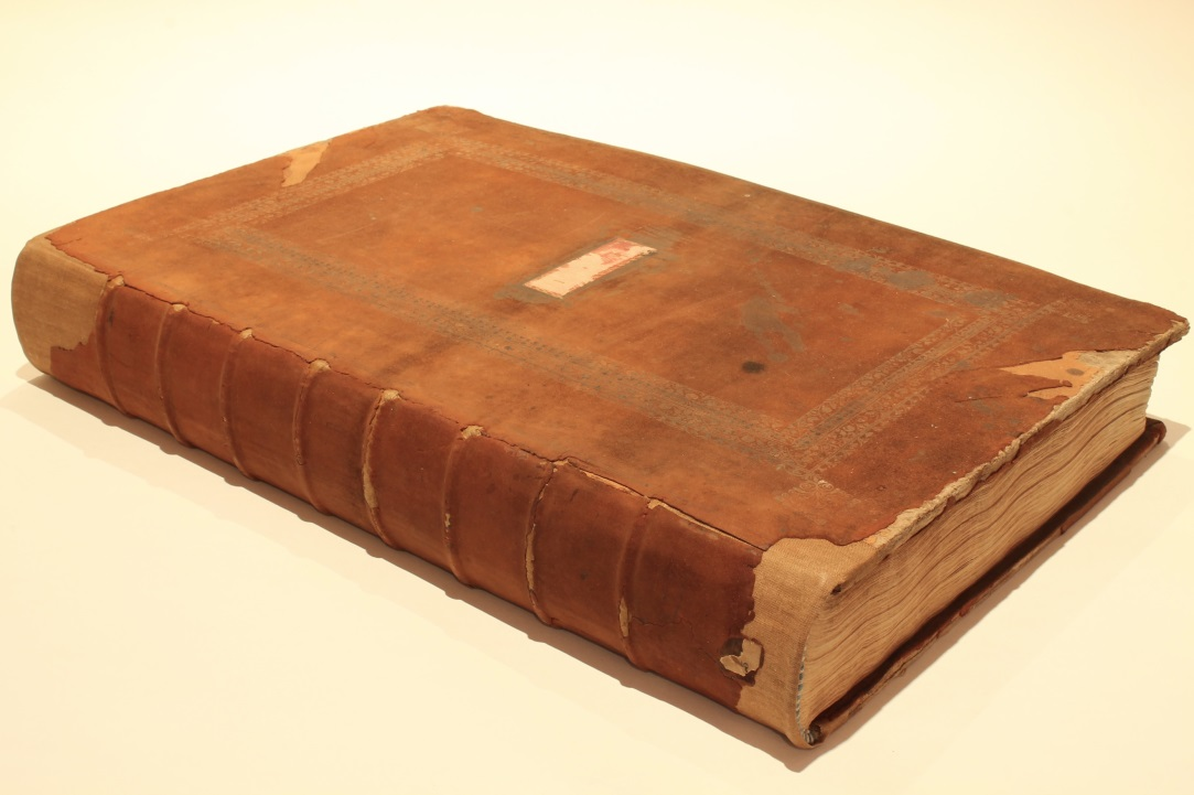 18th century Balliol Library catalogue after conservation