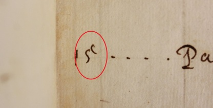 Crouch MS (Balliol College Library shelfmark 300 i 9)