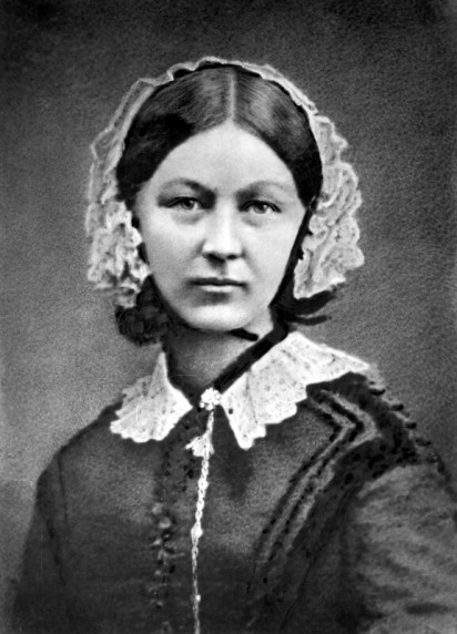 Florence Nightingale, c. 1860. Photograph by Henry Hering (1814-1893), National Portrait Gallery, London