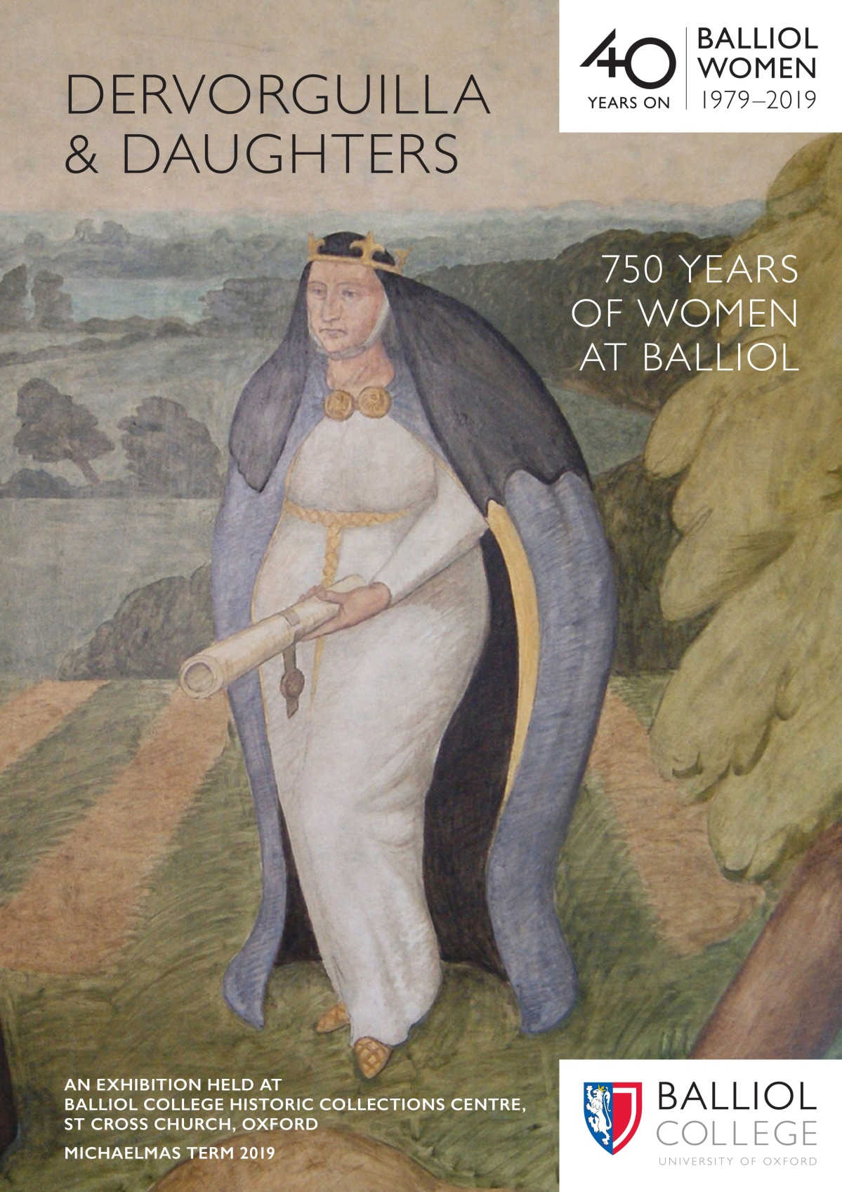 New Exhibition and Catalogue: Dervorguilla & Daughters: 750 Years of Women at Balliol