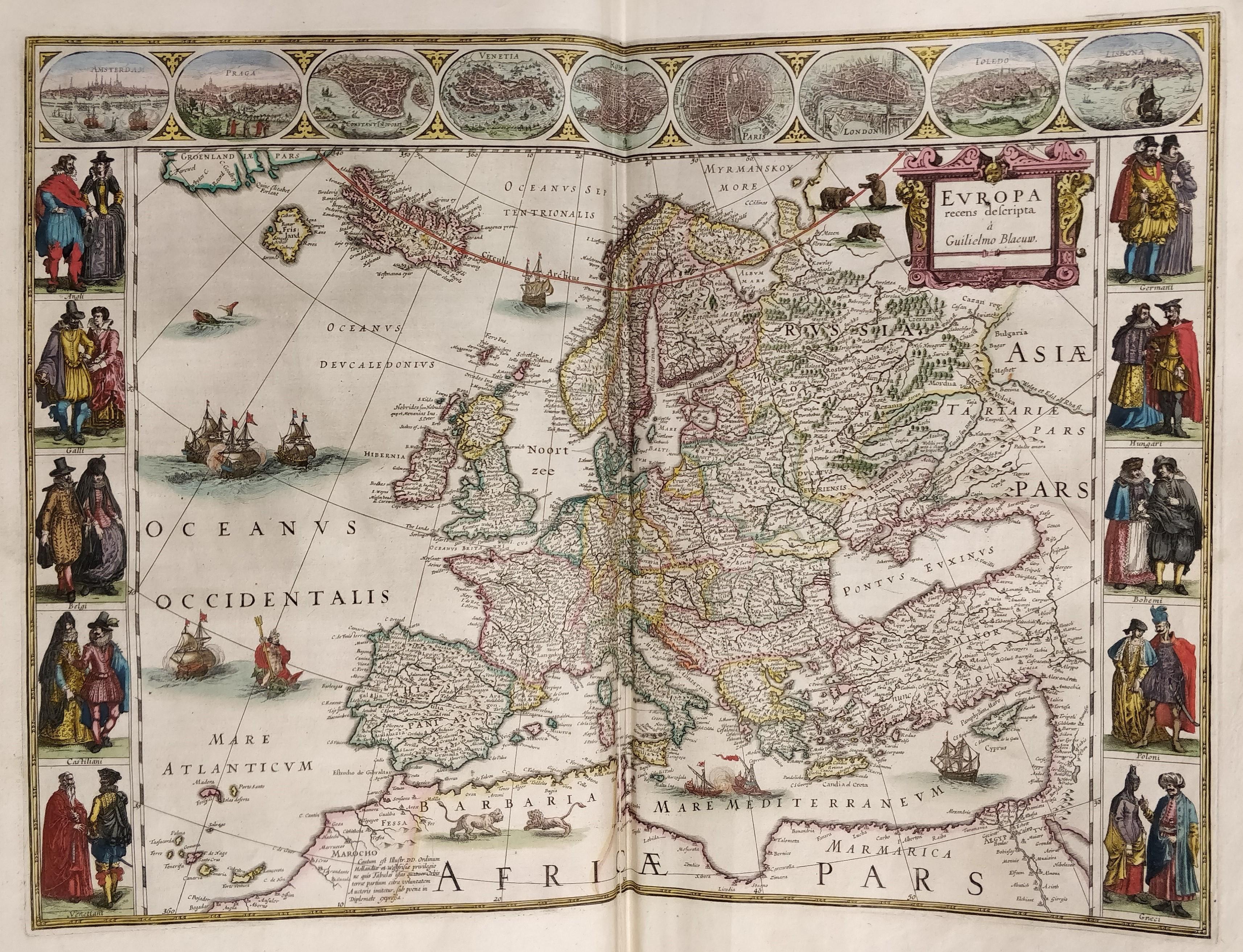 Blaeu Atlas - Europe