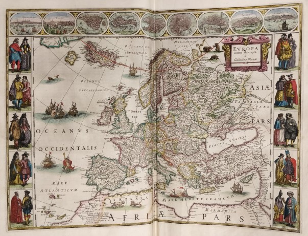 Blaeu Atlas - Europe