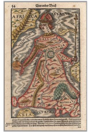Cosmographia_Europa Regina