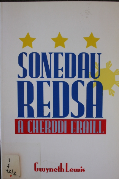 Cover of Soneday Redsa by Gwneth Lewis