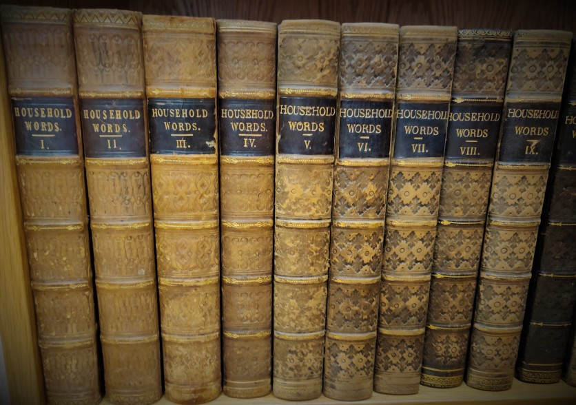 Run of Household Words at Balliol College Library